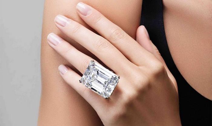 The Largest Diamond at Sotheby's Magnificent Jewels Sale