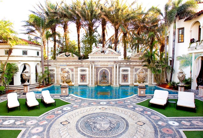 Inside the Luxurious Versace Home in Miami