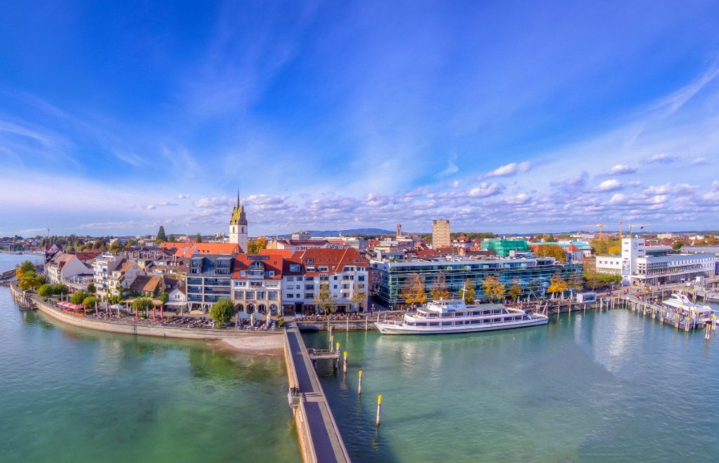 Explore The Lake Constance Surrounded By 4 Countries
