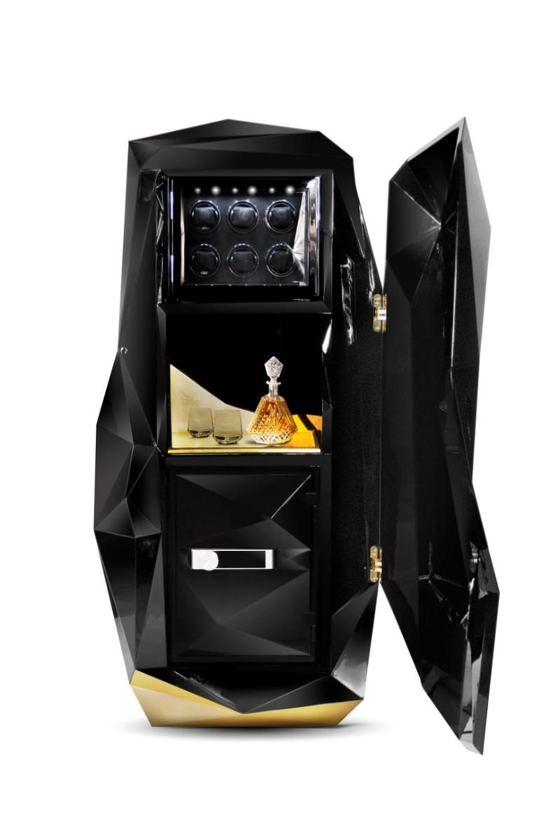 maison et objet Maison Et Objet Paris 2016 – Best Luxury Safes Exhibitors Diamond Black Luxury Safe by Boca do Lobo 2 1