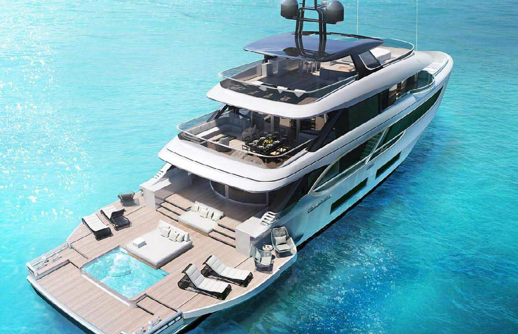 The Benetti's Superyacht Designed Like a Luxury Penthouse