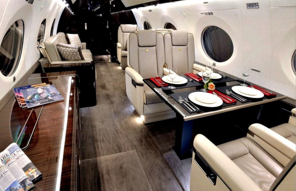 Inside The Three Most Unique and Luxury Jets in The World