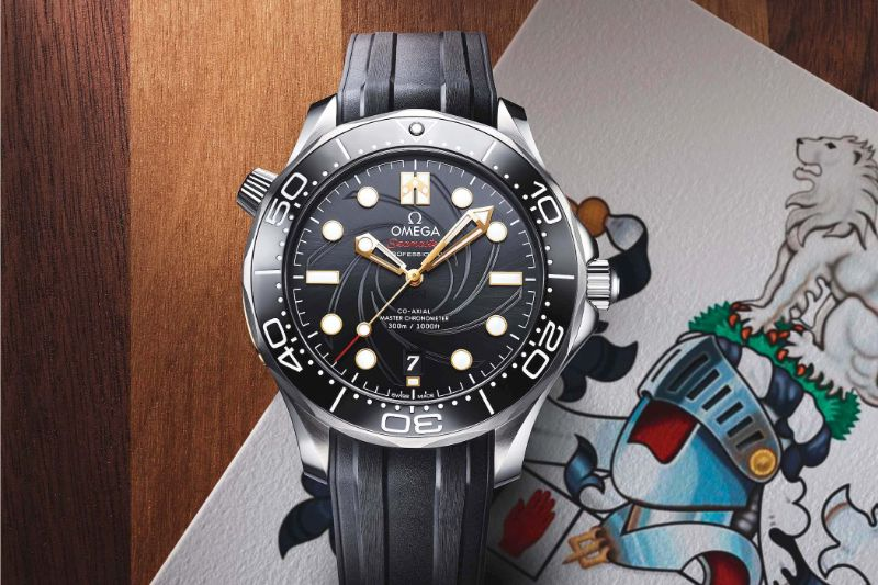 Here Is The New Omega Modern Watch: A Tribute To James Bond modern watch Here Is The New Omega Modern Watch: A Tribute To James Bond Omega Seamaster Diver 300M James Bond Limited Edition 7