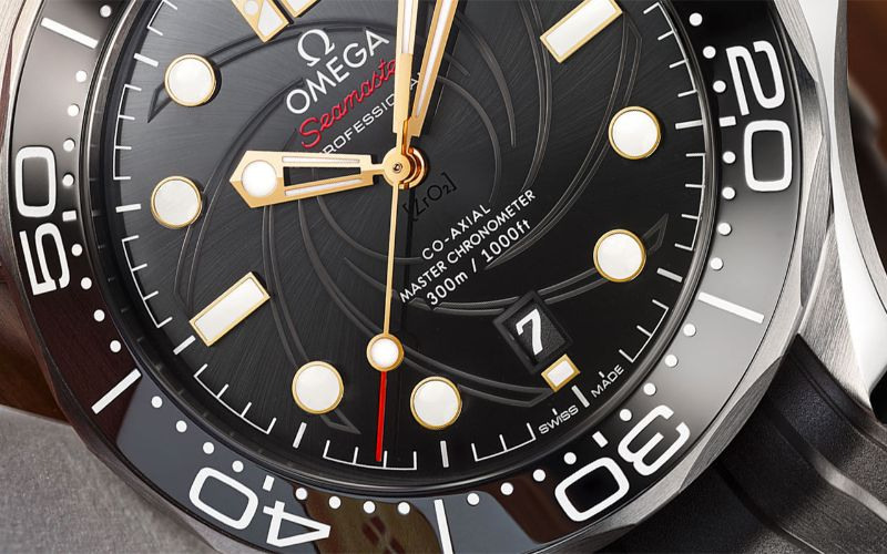 Here Is The New Omega Modern Watch: A Tribute To James Bond modern watch Here Is The New Omega Modern Watch: A Tribute To James Bond Omega Seamaster Diver 300M James Bond Limited Edition 8