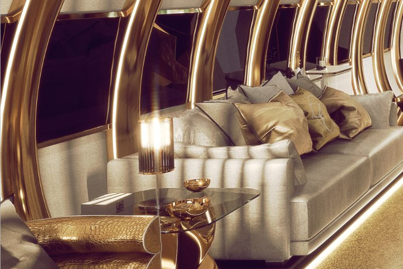 Private Airbus A340's Design: Opulence To Another Level By Celia Sawyer celia sawyer Sky-High Luxury – An Opulent Private Airbus Design By Celia Sawyer Private Airbus A340s Design Opulence To Another Level By Celia Sawyer 6