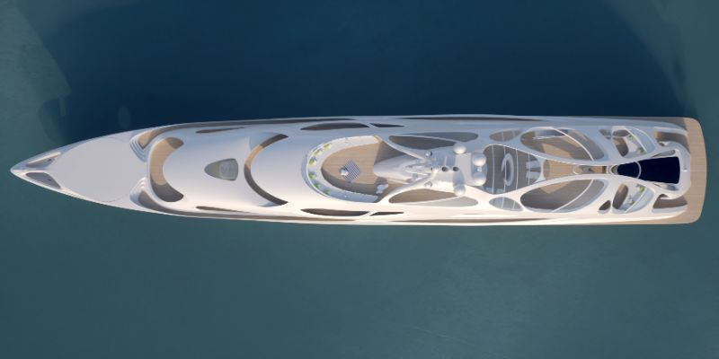 Unique Circle Yachts - A Superyacht Family Line by Zaha Hadid zaha hadid Zaha Hadid Designs A Line Of Unique Superyachts Unique Circle Yachts A Superyacht Family Line by Zaha Hadid 12