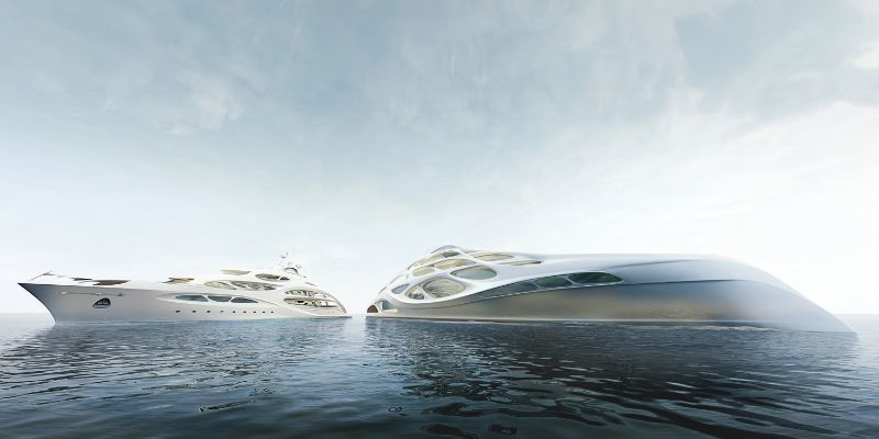 Unique Circle Yachts - A Superyacht Family Line by Zaha Hadid zaha hadid Zaha Hadid Designs A Line Of Unique Superyachts Unique Circle Yachts A Superyacht Family Line by Zaha Hadid 13
