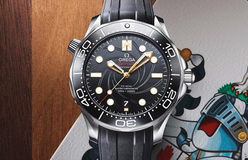 Here Is The New Omega Modern Watch: A Tribute To James Bond