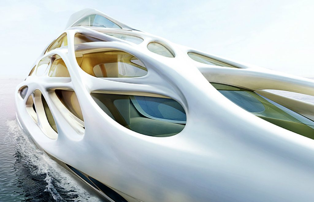Unique Circle Yachts – A Superyacht Family Line by Zaha Hadid
