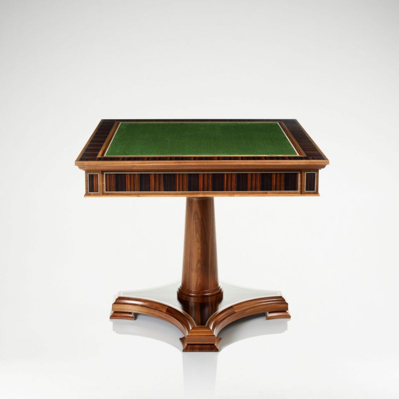 """Checkmate!"" - Get Impressed By These Luxury Games Tables luxury games tables Checkmate! – Get Impressed By These Luxury Games Tables linley classic games table walnut 4"
