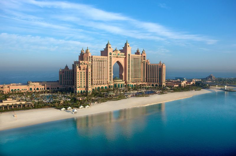 One Thousand and One Nights Inside These 5 Luxury Hotels in Dubai luxury hotels in dubai One Thousand and One Nights Inside These 5 Luxury Hotels in Dubai 1200px Atlantis The Palm Exterior