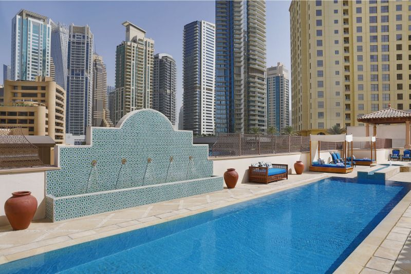 One Thousand and One Nights Inside These 5 Luxury Hotels in Dubai luxury hotels in dubai One Thousand and One Nights Inside These 5 Luxury Hotels in Dubai 50573958 The Ritz Carlton Spa Dubai JBR Outdoor Pool