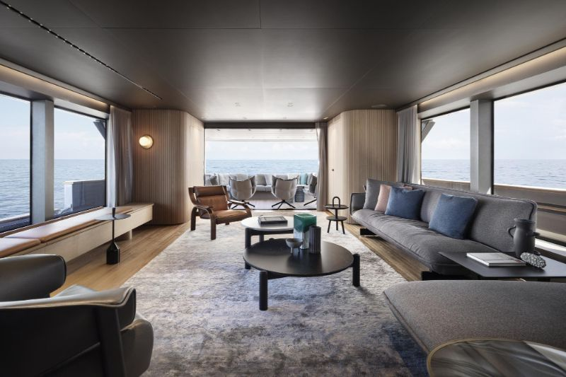 The 10 Most Recognized Superyacht's Best Interior Designers best interior designers The 10 Most Recognized Superyacht's Best Interior Designers A Feminine Touch By Patricia Urquiola Inside The SD96 Superyacht 8