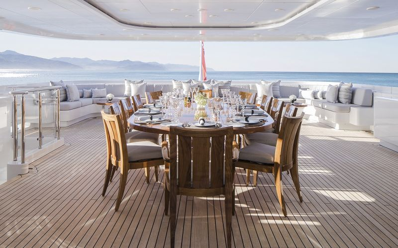 best interior designers The 10 Most Recognized Superyacht's Best Interior Designers H2 Yacht Turquoises Timeless Elegance 2