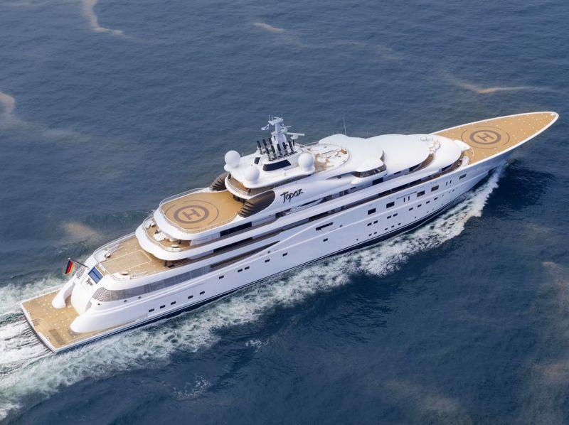 10 Unique Superyachts, 10 Symbols Of Luxury superyachts 10 Unique Superyachts, 10 Symbols Of Luxury TOPAZ 1