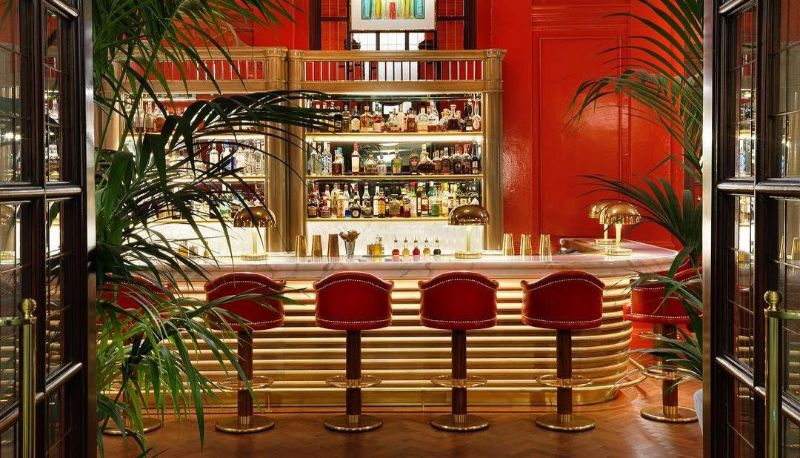 Have a Toast At One of These London's Cocktail Bars! cocktail bars Have a Toast At One of These London's Cocktail Bars! The Coral Room Bloomsbury 2