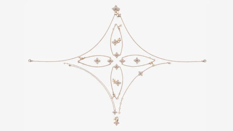 The Star Blossom Collection - Fine Jewelry By Louis Vuitton louis vuitton Louis Vuitton's Exquisite Star Blossom Jewellery Collection The Star Blossom Collection Fine Jewelry By Louis Vuitton 3