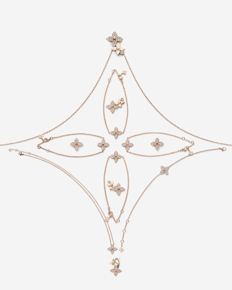 The Star Blossom Collection - Fine Jewelry By Louis Vuitton louis vuitton Louis Vuitton's Exquisite Star Blossom Jewellery Collection The Star Blossom Collection Fine Jewelry By Louis Vuitton 5