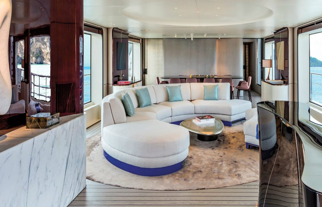 The 10 Most Recognized Superyacht's Best Interior Designers