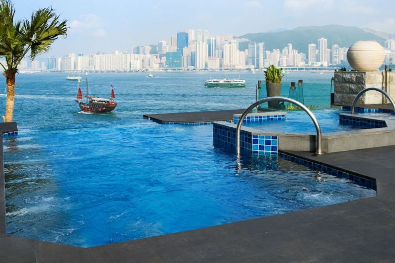 luxury hotel Take A Look At These 10 Stunning Luxury Hotel's Infinity Pools hong kong