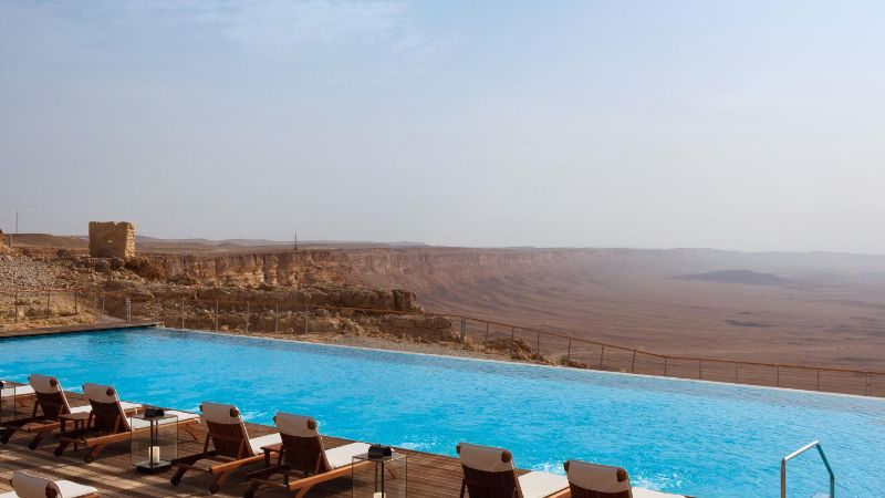luxury hotel Take A Look At These 10 Stunning Luxury Hotel's Infinity Pools israel