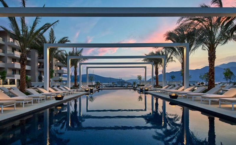 luxury hotel Take A Look At These 10 Stunning Luxury Hotel's Infinity Pools montenegro
