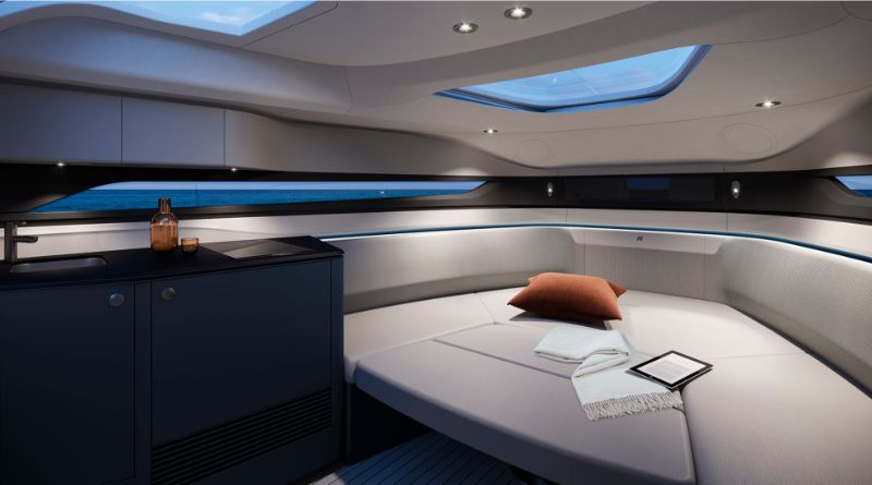 Agility And Elegance: Get Amazed By Princess R35 Superyacht superyacht Agility And Elegance: Get Amazed By Princess R35 Superyacht r35 cabin oxygen scheme at dusk 2