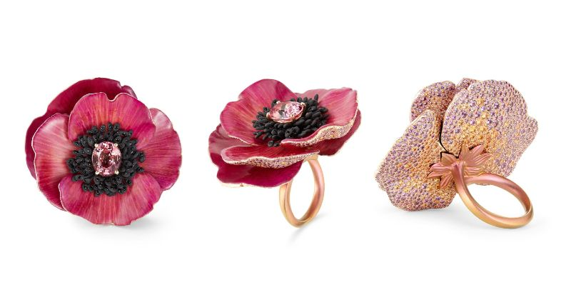 Innovative Artful Concepts: Here Are The Best Jewelry Pieces Of 2019 best jewelry pieces Innovative Artful Concepts: Here Are The Best Jewelry Pieces Of 2019 Boucheron   s petal ring 1