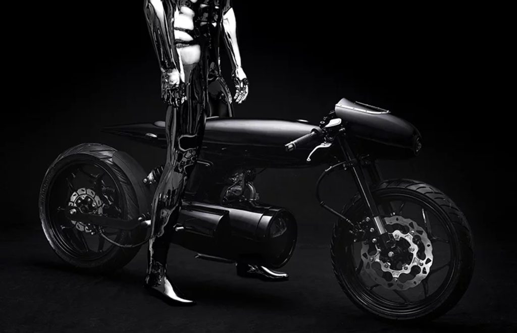 The Beautiful and Dark Reality of bandit9 EVE 2020 Motorcycle
