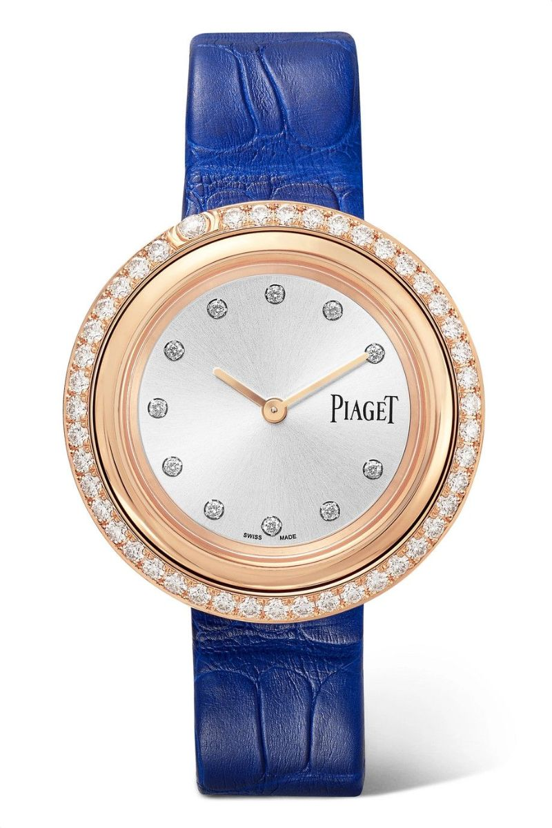 Discover The Best Holiday's Gifts: Unique & Luxury Watches For Women luxury watches Luxury Watches – Exclusive Timepieces For Women Possession 34mm Rose Gold Alligator and Diamond Piaget Watch 2