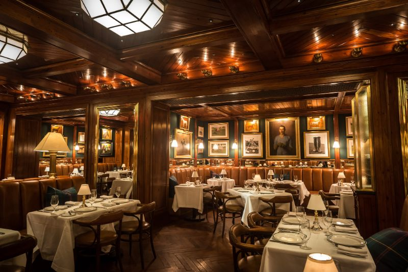 Modern Restaurants And Fancy Bars Owned By International Celebrities modern restaurant Modern Restaurants Owned By The World's Biggest Celebrities  The Polo Bar 2 New York City 1