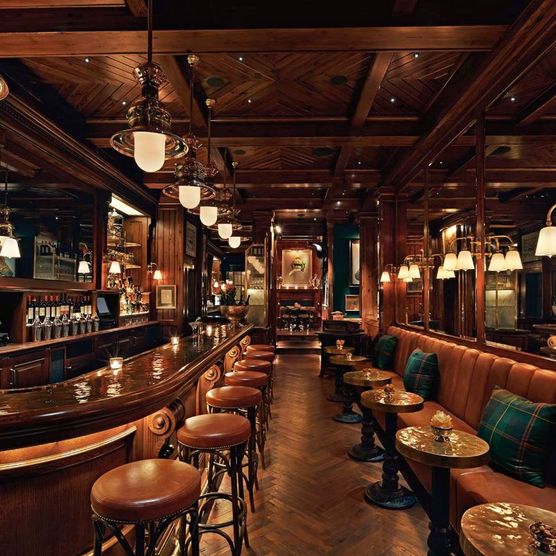 Modern Restaurants And Fancy Bars Owned By International Celebrities modern restaurant Modern Restaurants Owned By The World's Biggest Celebrities  The Polo Bar New York City 1