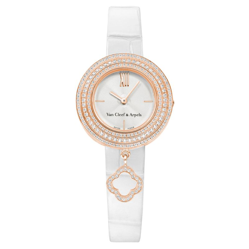 Discover The Best Holiday's Gifts: Unique & Luxury Watches For Women luxury watches Luxury Watches – Exclusive Timepieces For Women Van Cleef Arpels Charms Watch 2