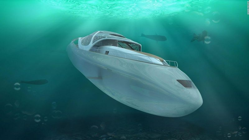 luxury yacht An Innovative Concept: Get Amazed By This Luxury Yacht And Submarine An Innovative Concept Get Amazed By This Luxury Yacht And Submarine 3