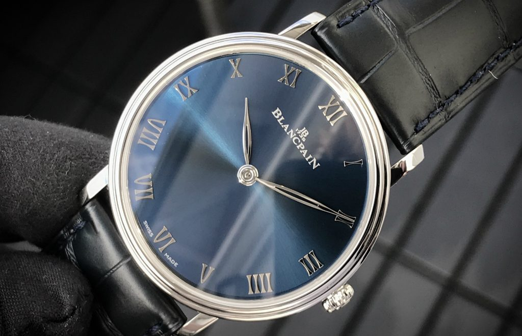Timeless & Classic: The New Villeret Ultraplate From Blancpain