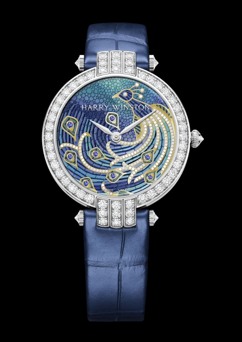 Harry Winston's New Timepieces: Fine And Marvelous Mosaic Watches harry winston Harry Winston's New Timepieces: Fine And Marvelous Mosaic Watches Harry Winstons New Timepieces Fine And Marvelous Mosaic Watches 1