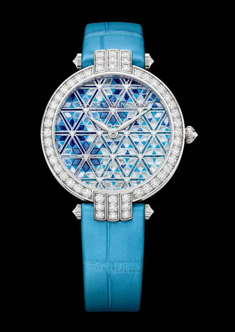 Harry Winston's New Timepieces: Fine And Marvelous Mosaic Watches harry winston Harry Winston's New Timepieces: Fine And Marvelous Mosaic Watches Harry Winstons New Timepieces Fine And Marvelous Mosaic Watches 10