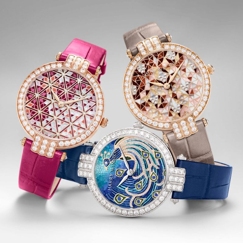 Harry Winston's New Timepieces: Fine And Marvelous Mosaic Watches harry winston Harry Winston's New Timepieces: Fine And Marvelous Mosaic Watches Harry Winstons New Timepieces Fine And Marvelous Mosaic Watches 3