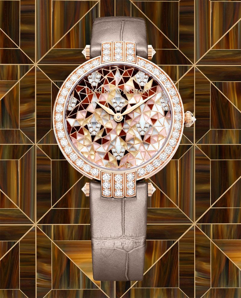 Harry Winston's New Timepieces: Fine And Marvelous Mosaic Watches harry winston Harry Winston's New Timepieces: Fine And Marvelous Mosaic Watches Harry Winstons New Timepieces Fine And Marvelous Mosaic Watches 4