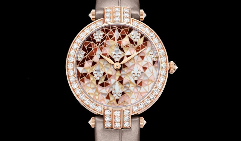 Harry Winston's New Timepieces: Fine And Marvelous Mosaic Watches harry winston Harry Winston's New Timepieces: Fine And Marvelous Mosaic Watches Harry Winstons New Timepieces Fine And Marvelous Mosaic Watches 5