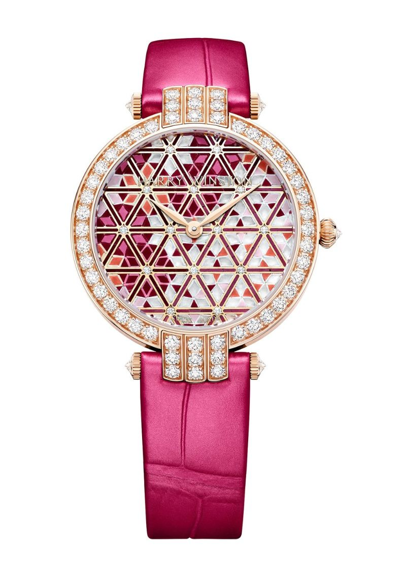 Harry Winston's New Timepieces: Fine And Marvelous Mosaic Watches harry winston Harry Winston's New Timepieces: Fine And Marvelous Mosaic Watches Harry Winstons New Timepieces Fine And Marvelous Mosaic Watches 9