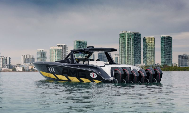 Mercedes-AMG x Cigarette Racing Powerboat: A Boat & Car Collaboration racing powerboat Mercedes-AMG x Cigarette Racing Powerboat: A Boat & Car Collaboration Mercedes AMG x Cigarette Racing Powerboat A Boat Car Collaboration 6