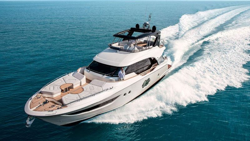 miami yacht show 2020 Miami Yacht Show Highlights: The 10 Best Modern Superyachts Monte Carlo 70   69 Feet