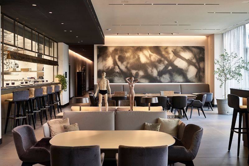 The 5 Best Restaurants In Milan For Luxury Design Lovers best restaurants in milan The 5 Best Restaurants In Milan For Luxury Design Lovers Morelli at Hotel Viu 1
