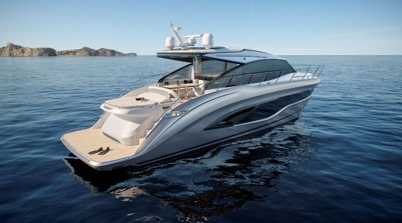 miami yacht show 2020 Miami Yacht Show Highlights: The 10 Best Modern Superyachts Princess V55   55 Feet