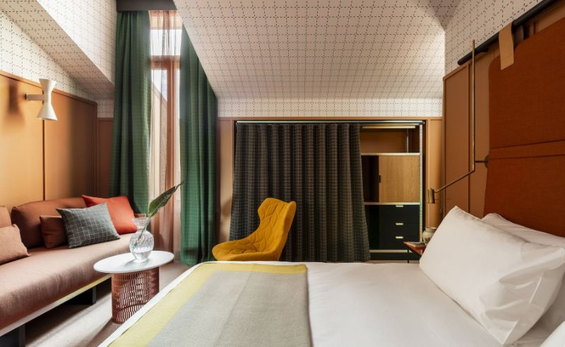 An Unquestionable Elegance Inside The 10 Best Design Hotels In Milan design hotels in milan An Unquestionable Elegance Inside The 10 Best Design Hotels In Milan ROOM MATE GIULIA 1