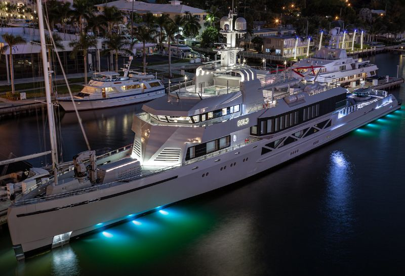 miami yacht show 2020 Miami Yacht Show Highlights: The 10 Best Modern Superyachts Silver Yachts Bold   279 Feet