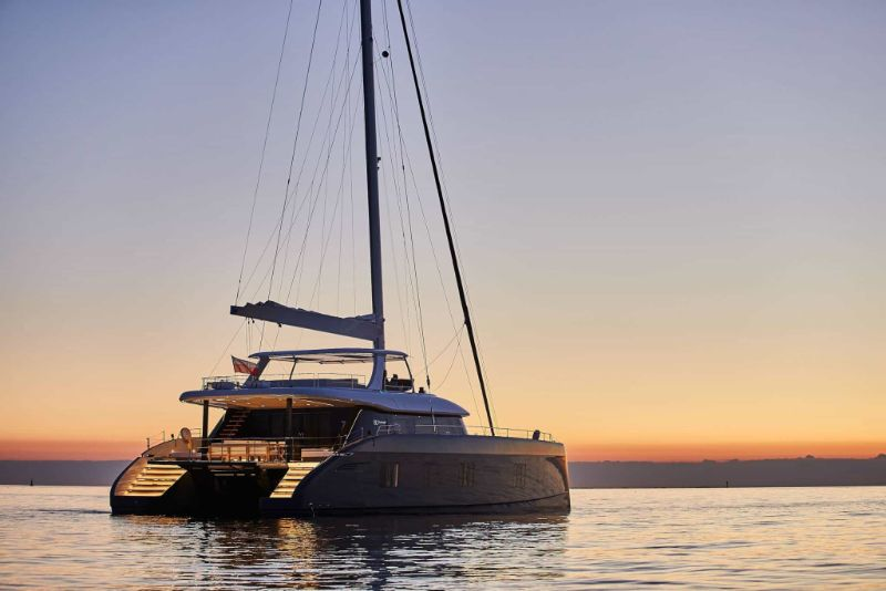 miami yacht show 2020 Miami Yacht Show Highlights: The 10 Best Modern Superyachts Sunreef 80 Sailing Yacht   80 Feet