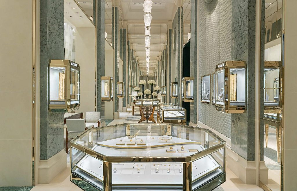 The New Graff Luxury Store In Paris – A Unique Design By Peter Marino
