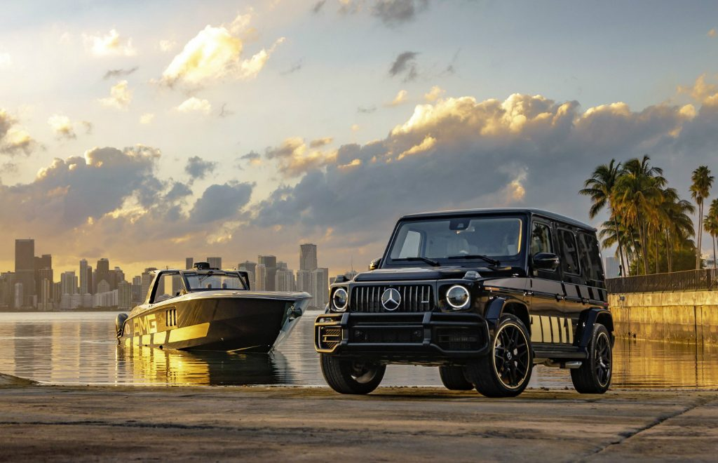 Mercedes-AMG x Cigarette Racing Powerboat: A Boat & Car Collaboration